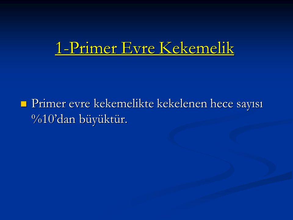 1-Primer Evre Kekemelik