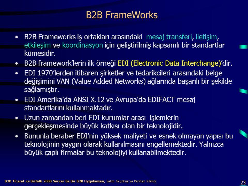 B2B FrameWorks
