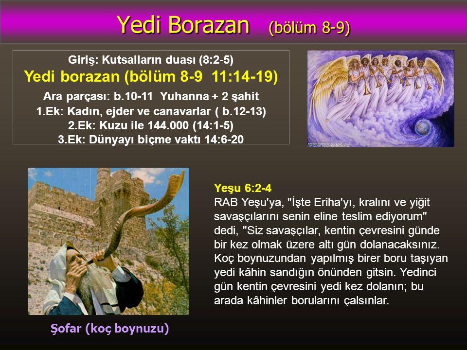 Yedi Borazan (bölüm 8-9) Yedi borazan (bölüm 8-9 11:14-19)
