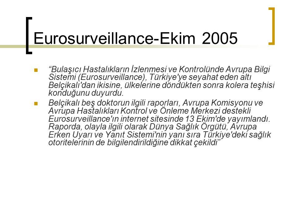 Eurosurveillance-Ekim 2005