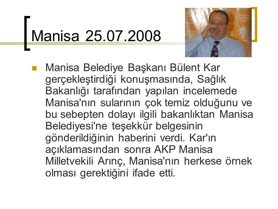 Manisa 25.07.2008