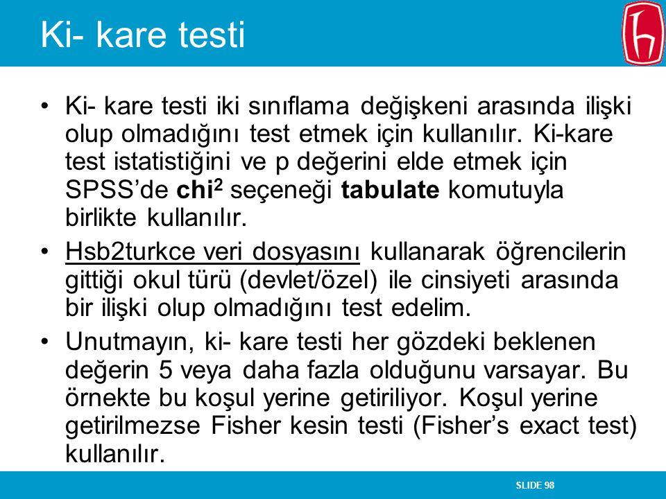 Ki- kare testi