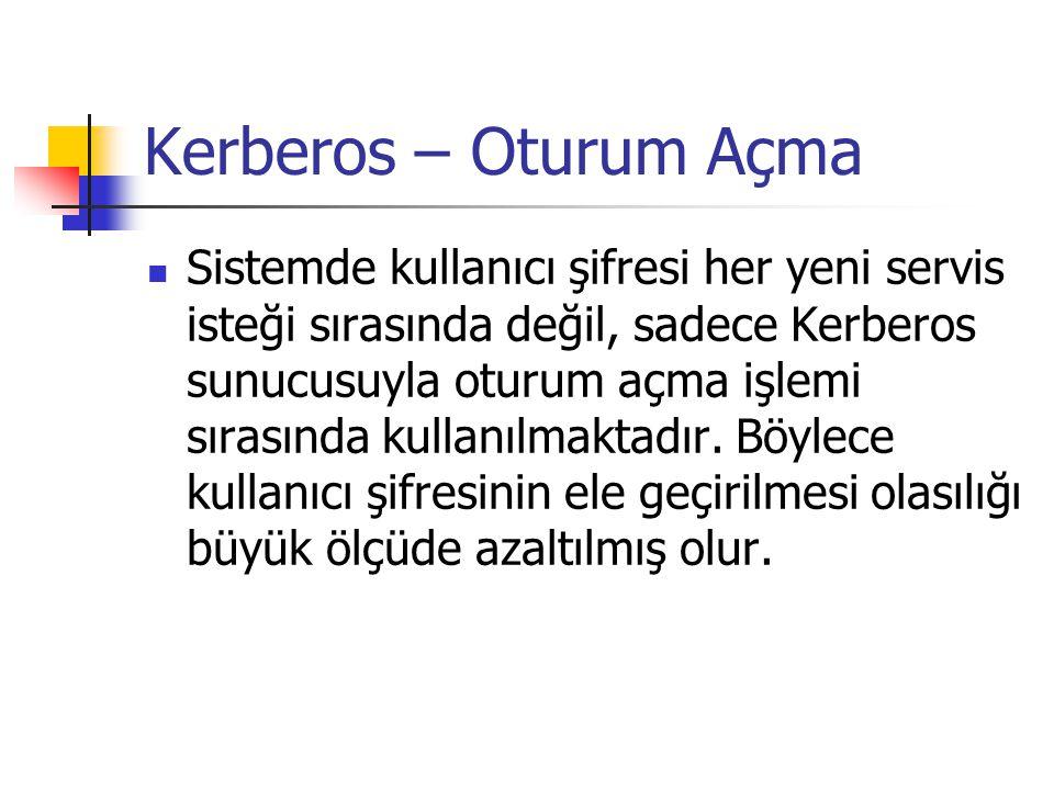 Kerberos – Oturum Açma