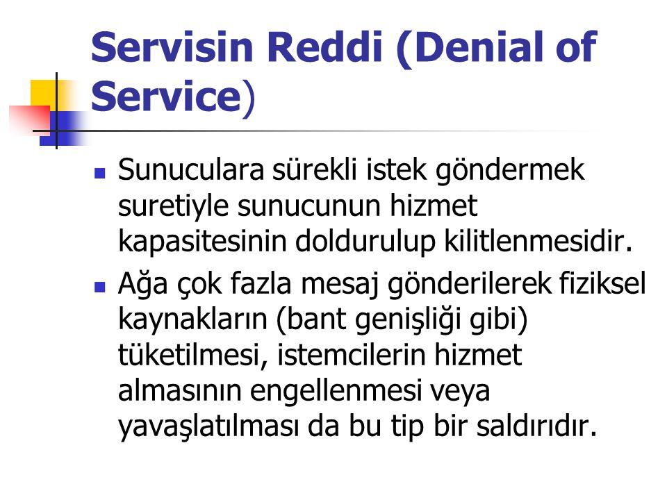 Servisin Reddi (Denial of Service)