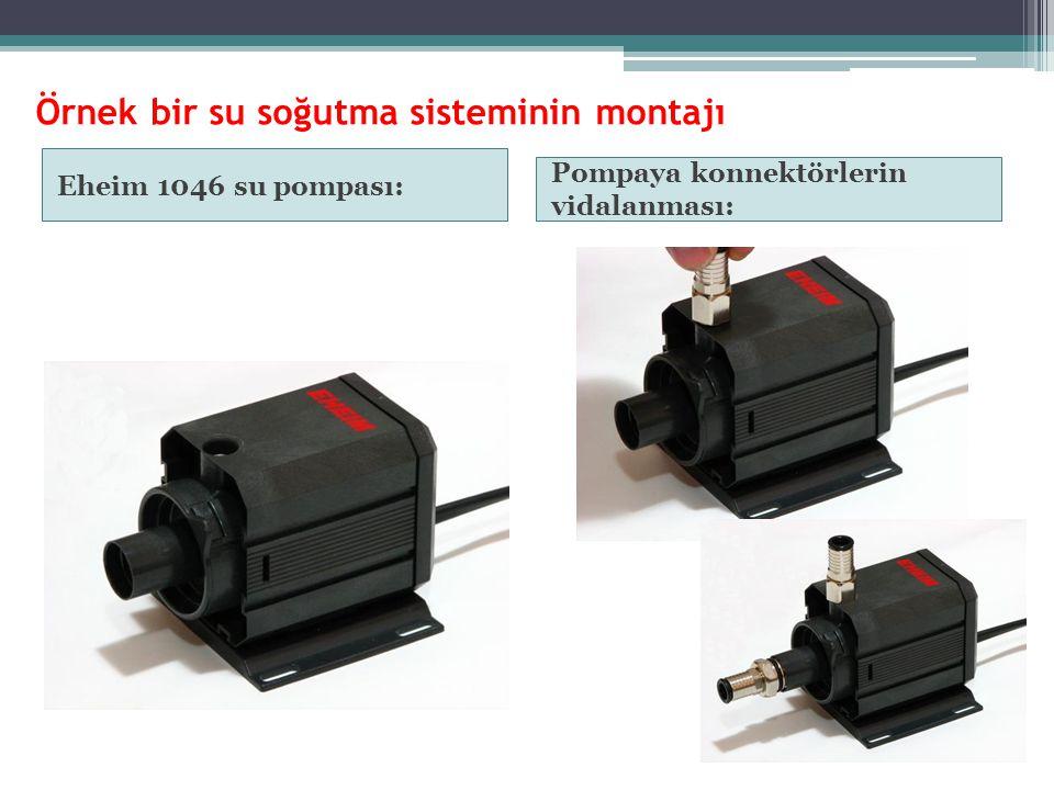Örnek bir su soğutma sisteminin montajı