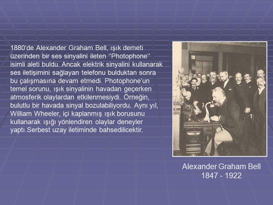 Alexander Graham Bell 1847 - 1922