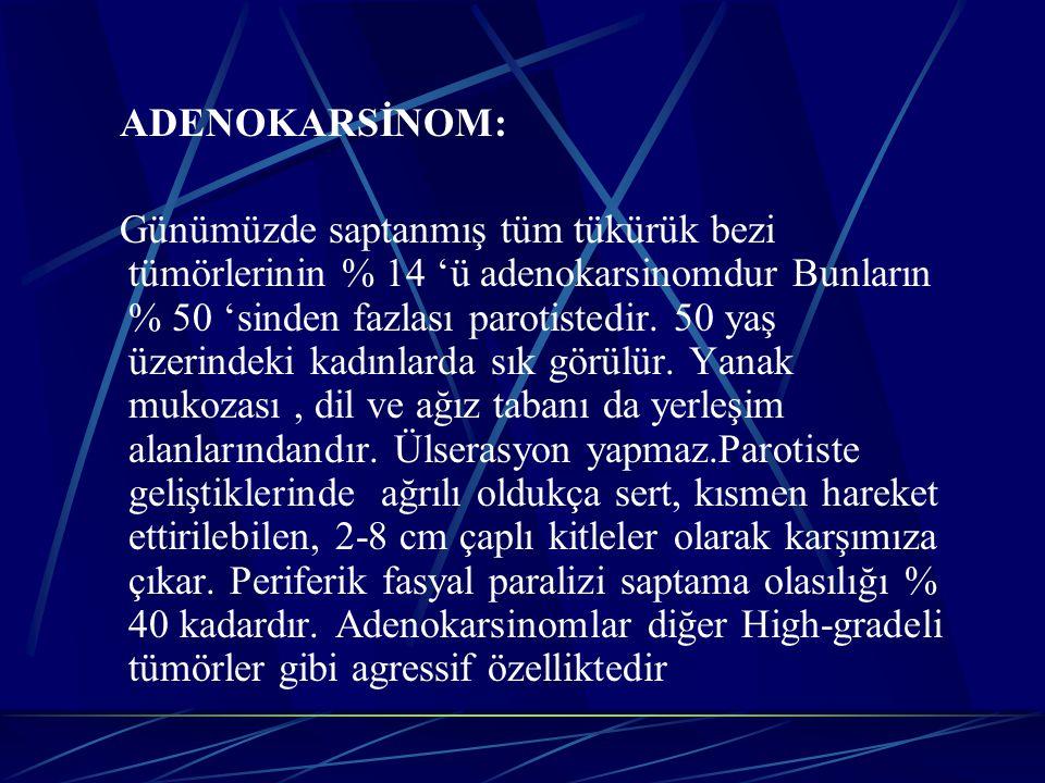 ADENOKARSİNOM: