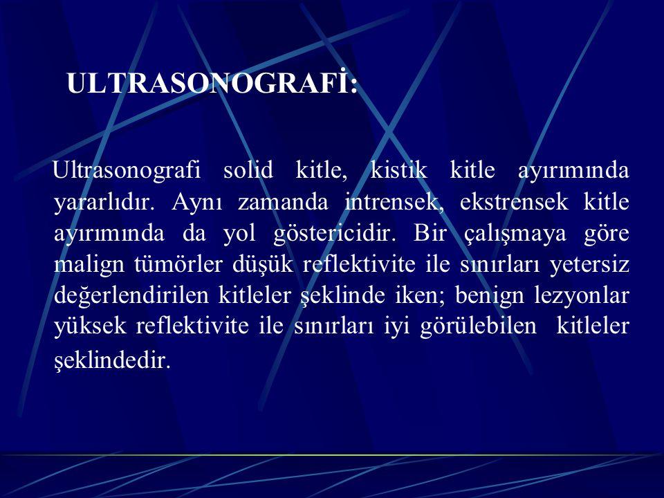 ULTRASONOGRAFİ: