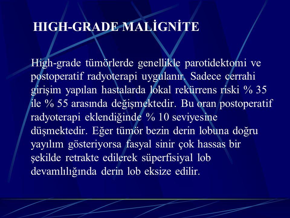 HIGH-GRADE MALİGNİTE