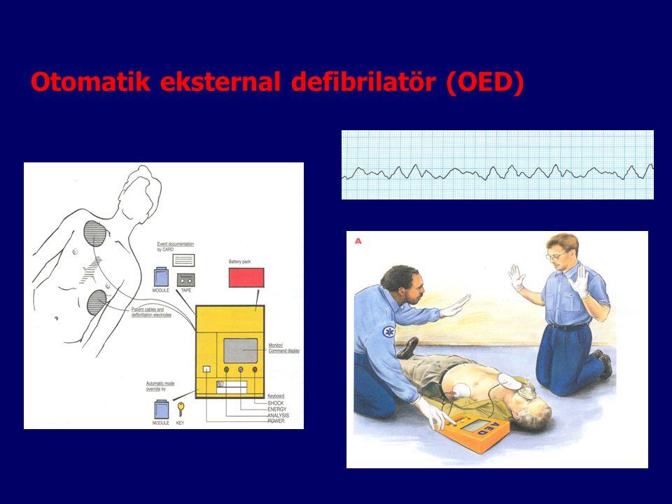 Otomatik eksternal defibrilatör (OED)