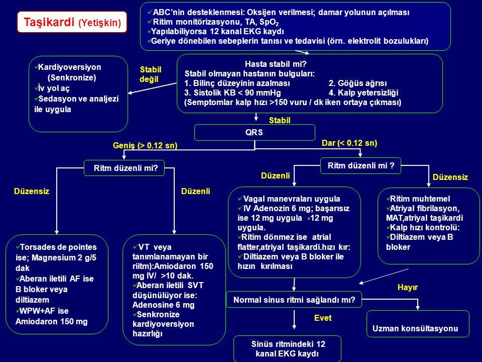 Normal sinus ritmi sağlandı mı Sinüs ritmindeki 12 kanal EKG kaydı