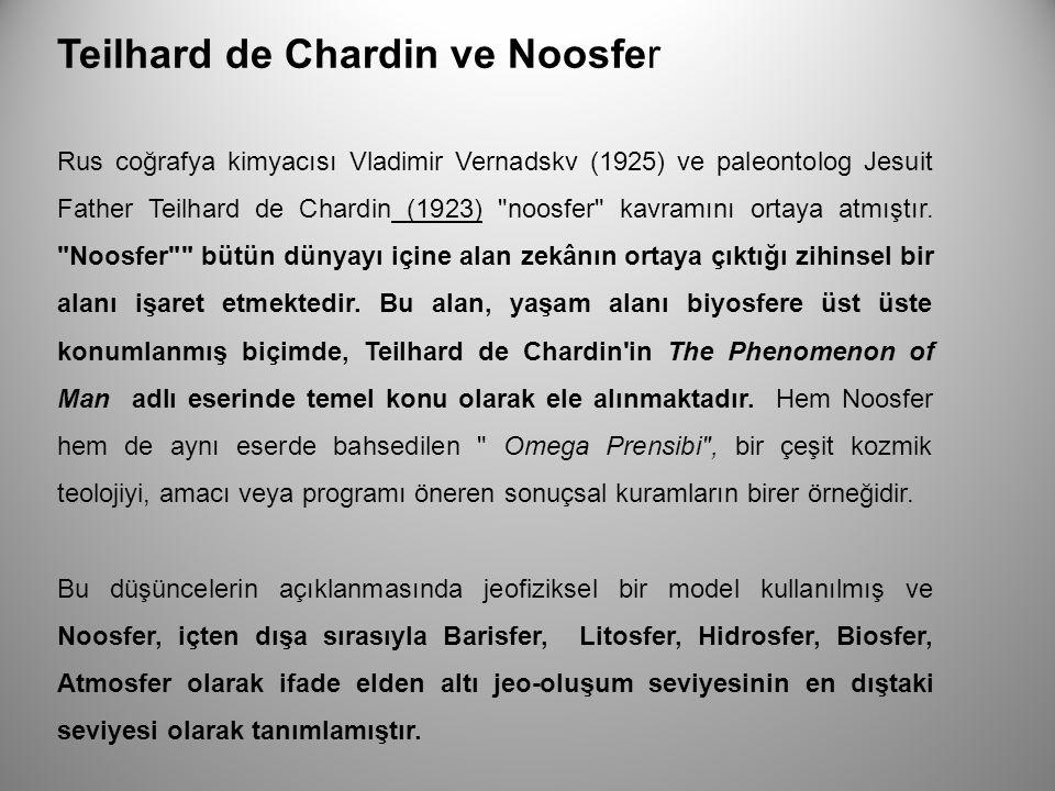 Teilhard de Chardin ve Noosfer