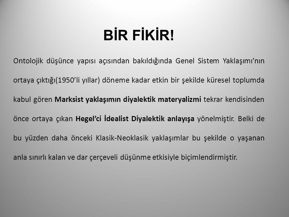 BİR FİKİR!