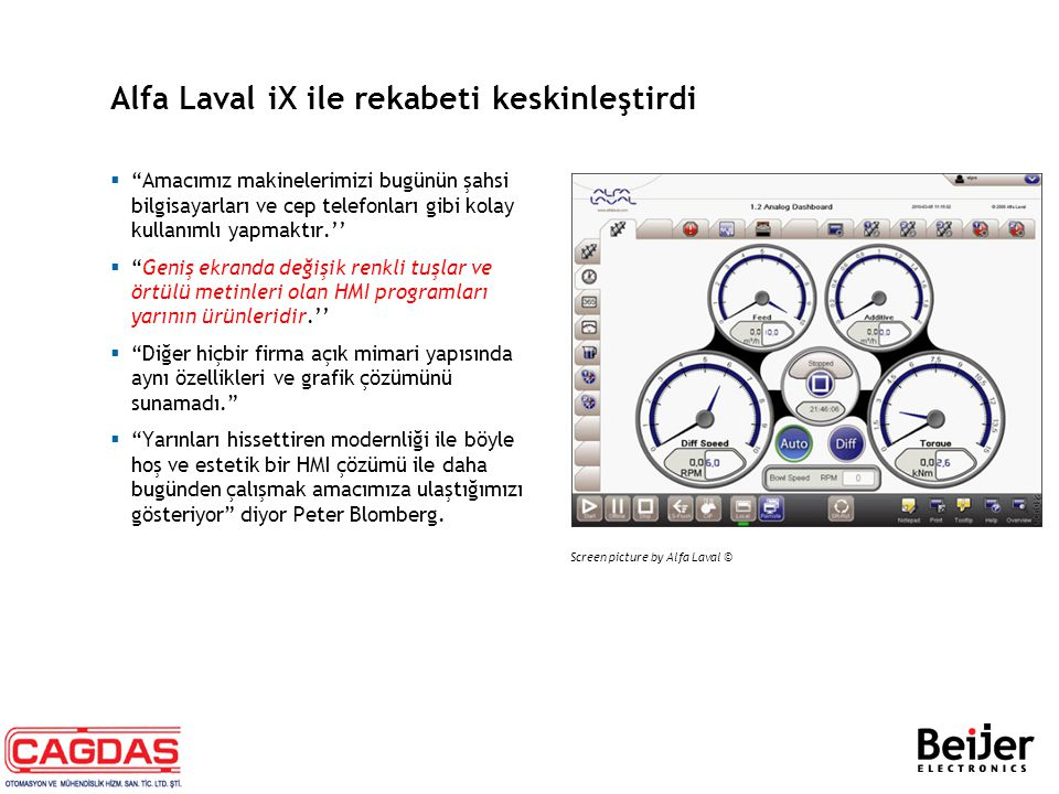 Alfa Laval iX ile rekabeti keskinleştirdi