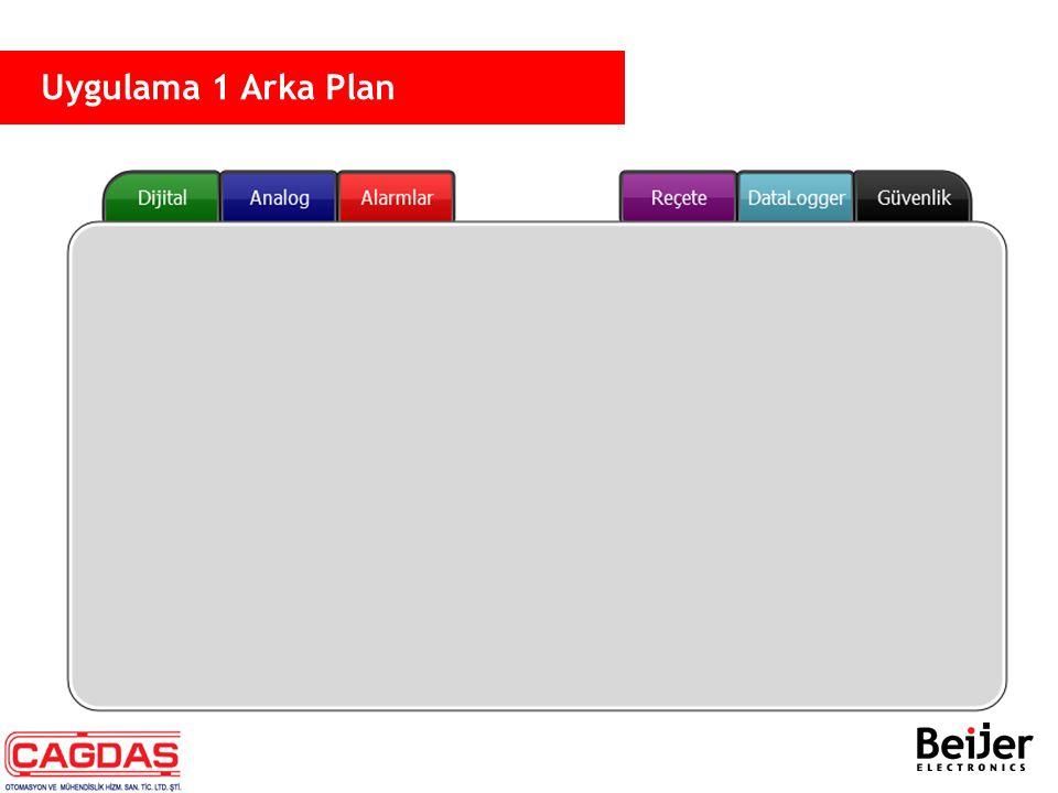 Uygulama 1 Arka Plan
