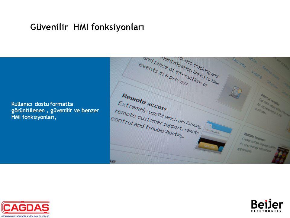 Güvenilir HMI fonksiyonları