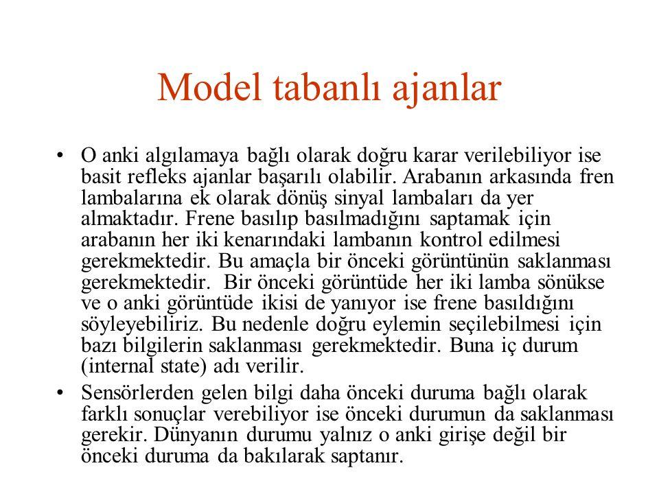 Model tabanlı ajanlar