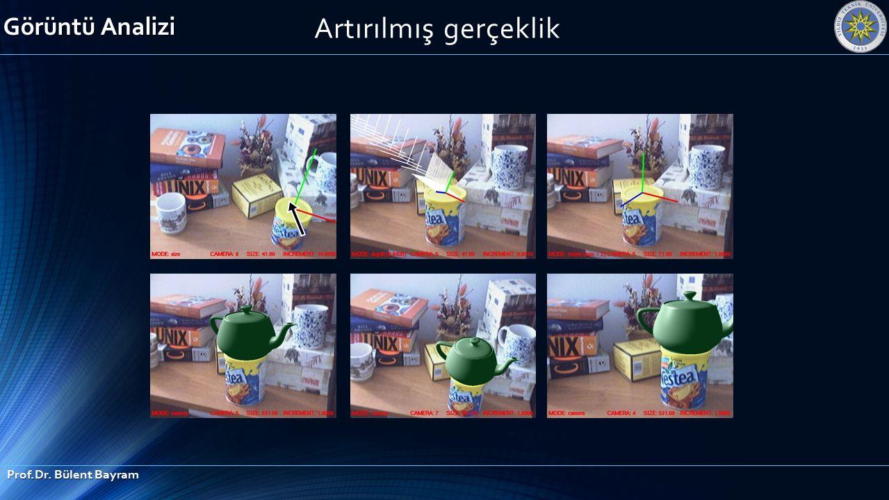 Artırılmış gerçeklik Görüntü Analizi Prof.Dr. Bülent Bayram