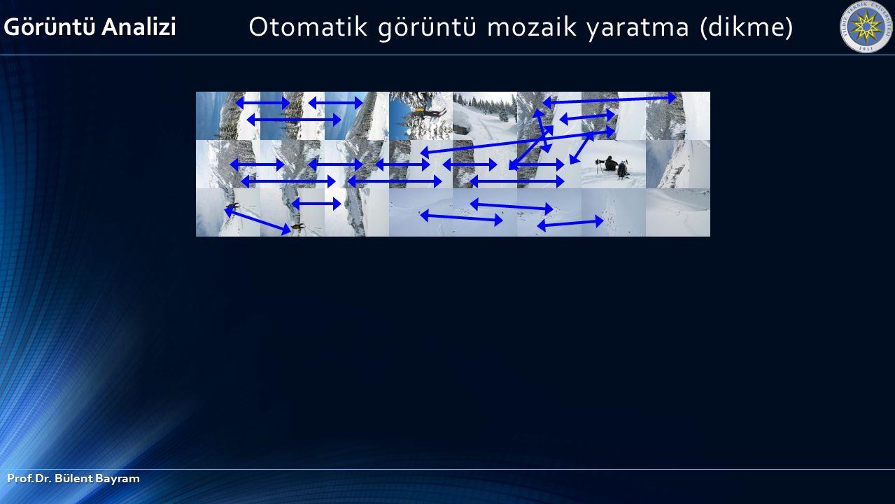 Otomatik görüntü mozaik yaratma (dikme)
