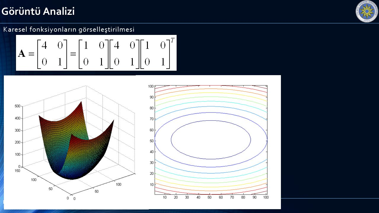 Karesel fonksiyonların görselleştirilmesi