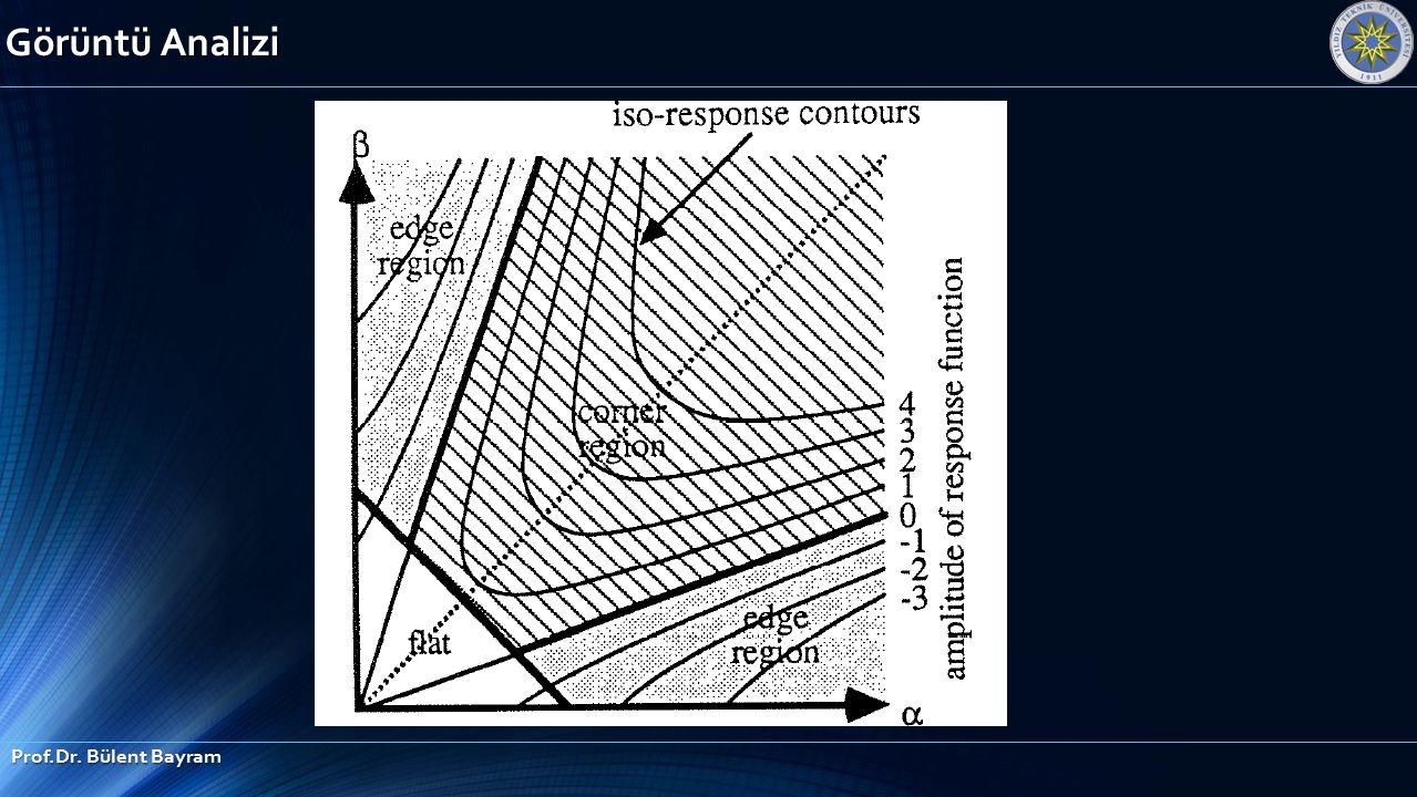 Görüntü Analizi Prof.Dr. Bülent Bayram
