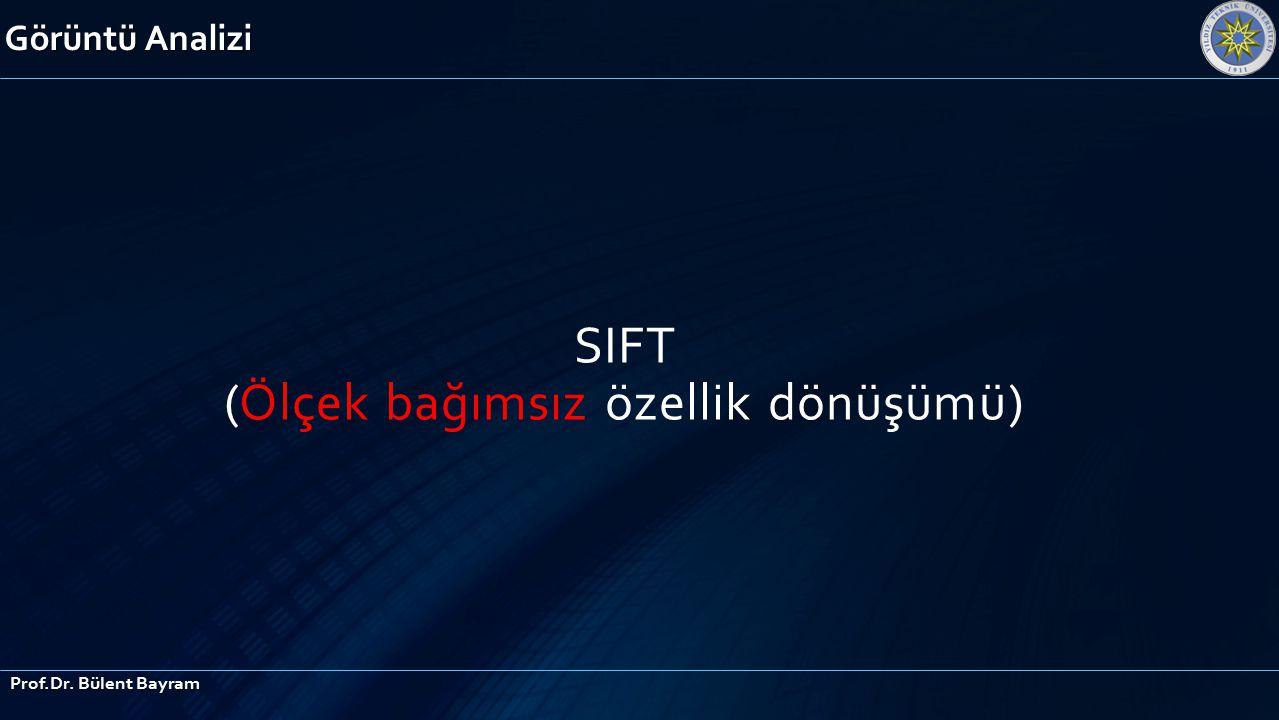 SIFT (Ölçek bağımsız özellik dönüşümü)