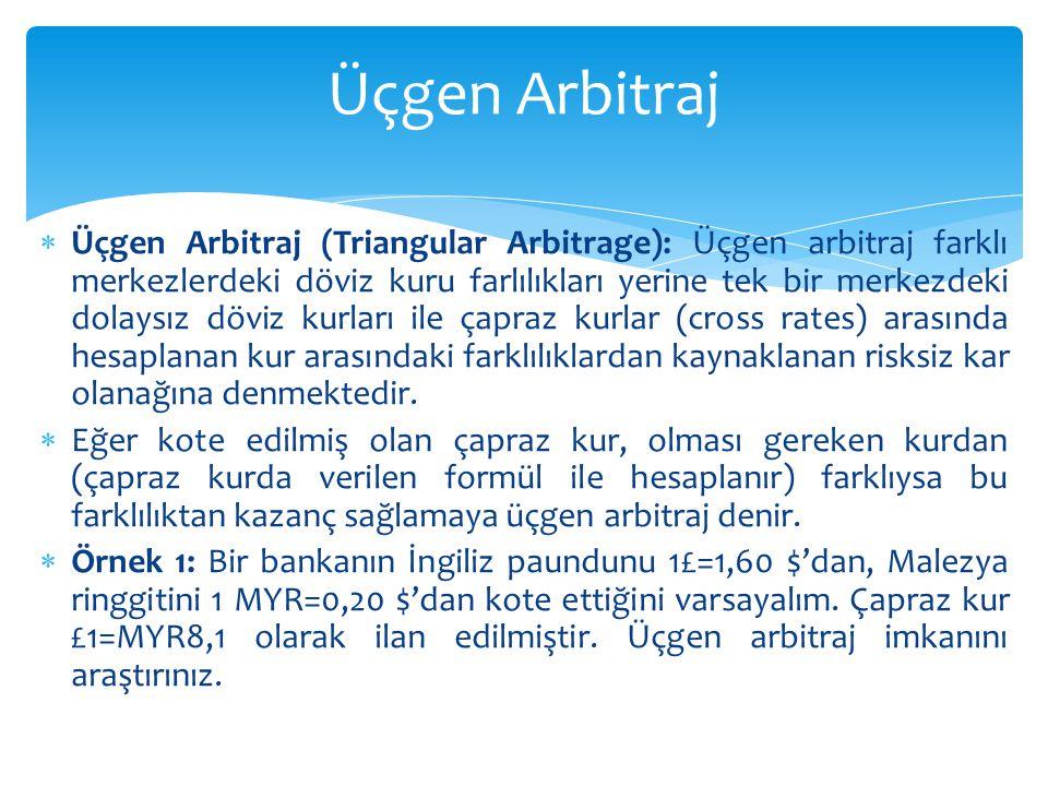 Üçgen Arbitraj