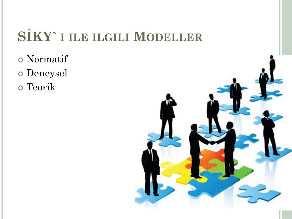 SİKY` i ile ilgili Modeller