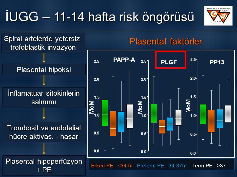 İUGG – 11-14 hafta risk öngörüsü