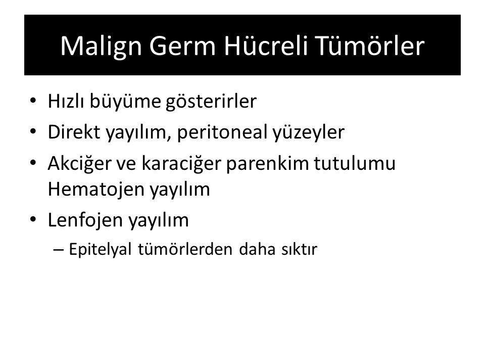Malign Germ Hücreli Tümörler