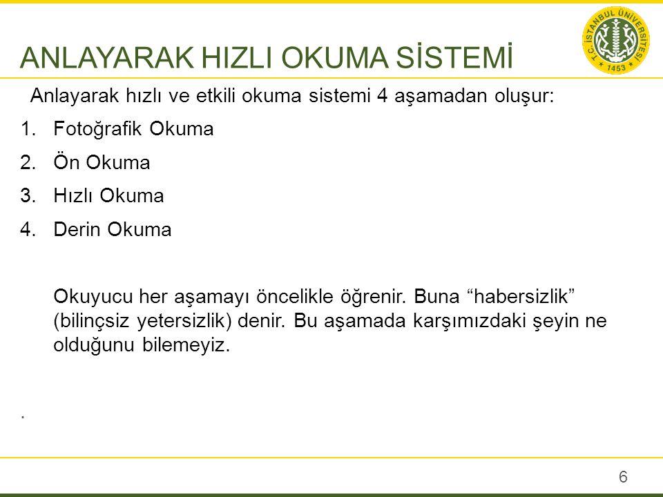 Etkili Okuma Sistemi
