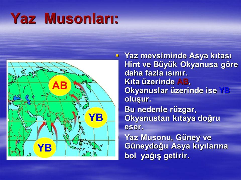 Yaz Musonları: