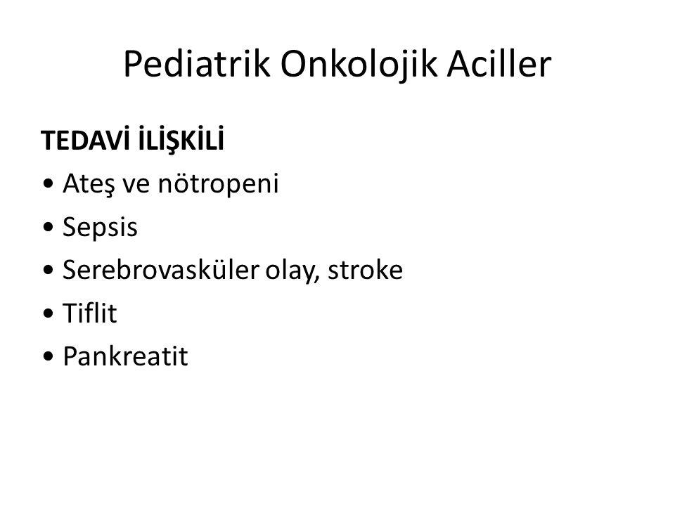 Pediatrik Onkolojik Aciller
