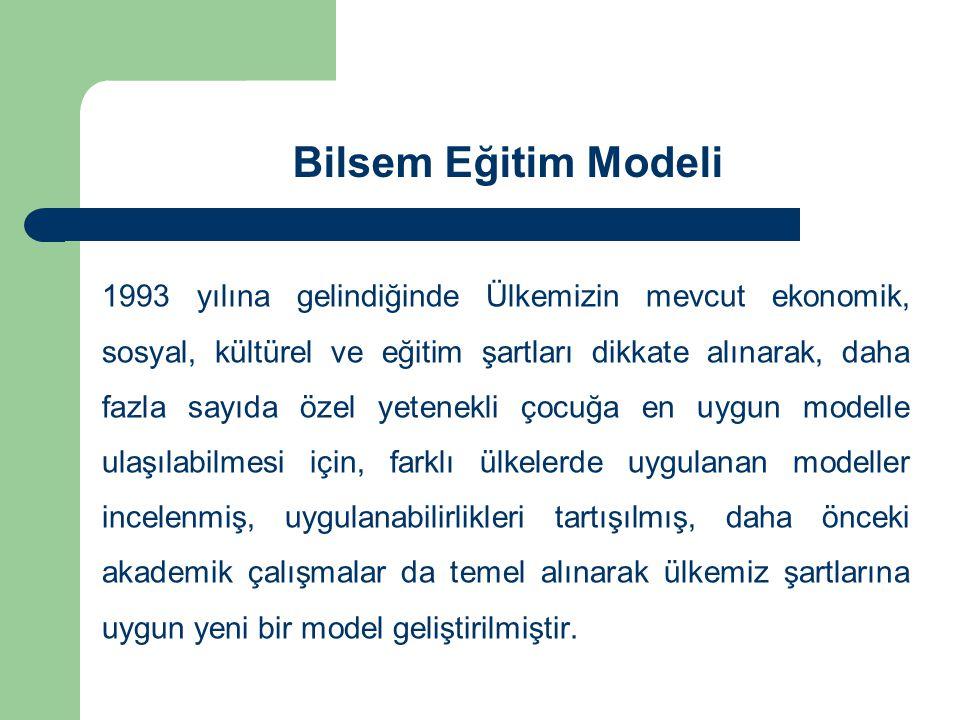 Bilsem Eğitim Modeli