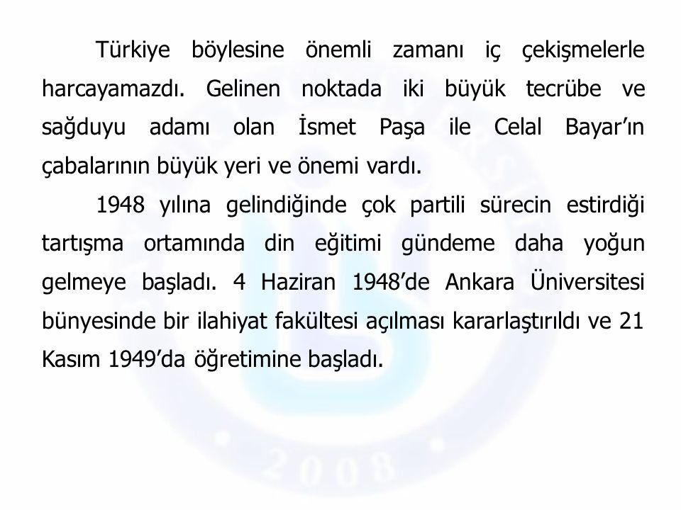 Türkiye böylesine önemli zamanı iç çekişmelerle harcayamazdı