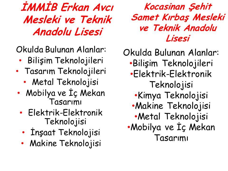 İMMİB Erkan Avcı Mesleki ve Teknik Anadolu Lisesi