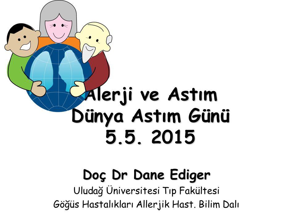 Alerji ve Astım Dünya Astım Günü 5.5. 2015