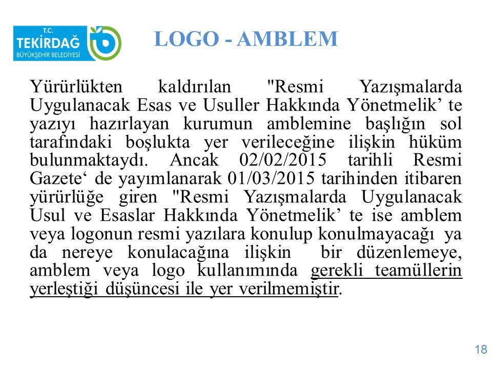 LOGO - AMBLEM