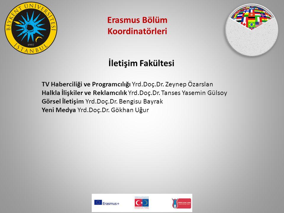 Erasmus Bölüm Koordinatörleri