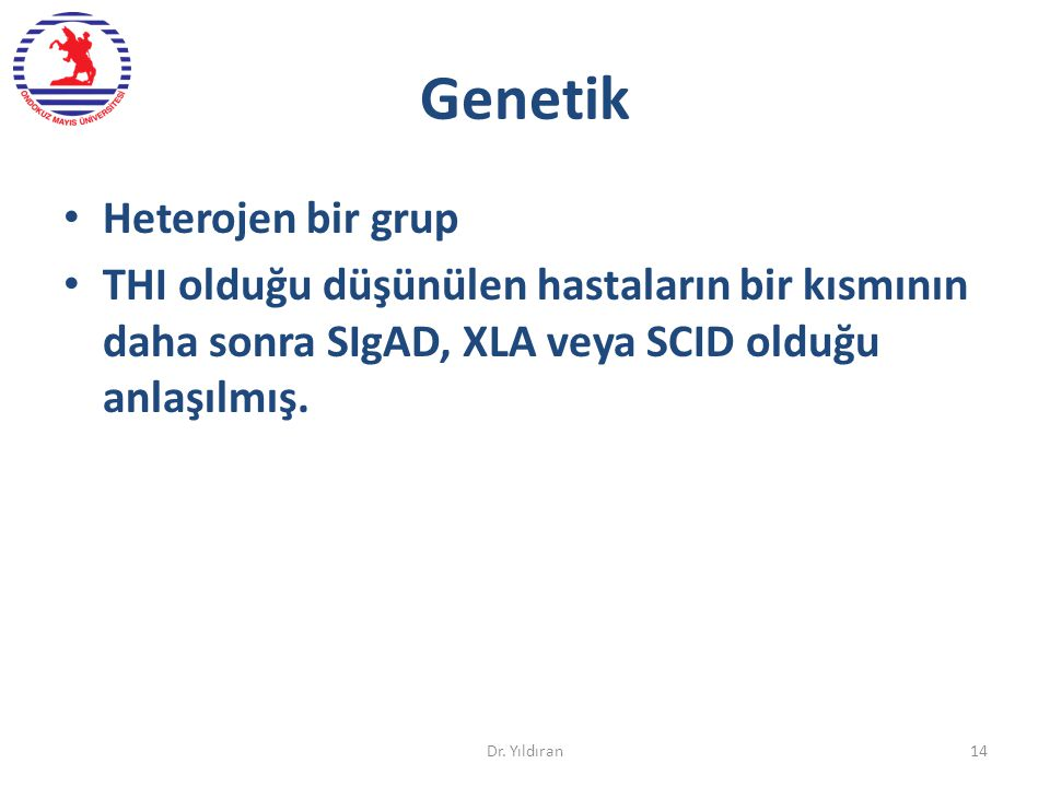 Genetik Heterojen bir grup