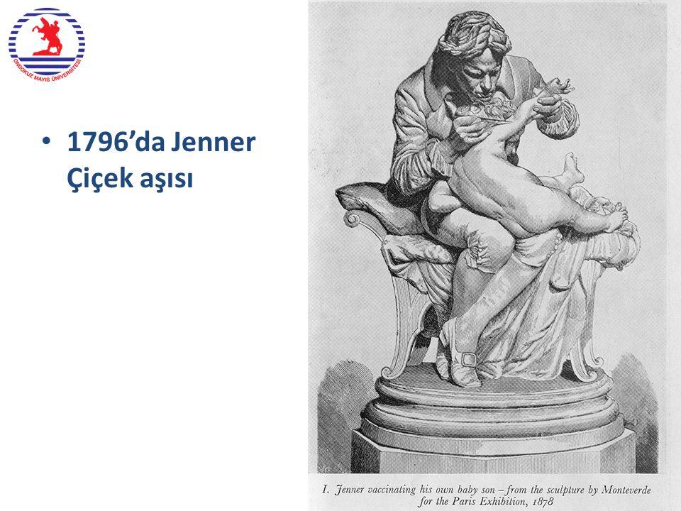 1796'da Jenner Çiçek aşısı Dr. Yıldıran