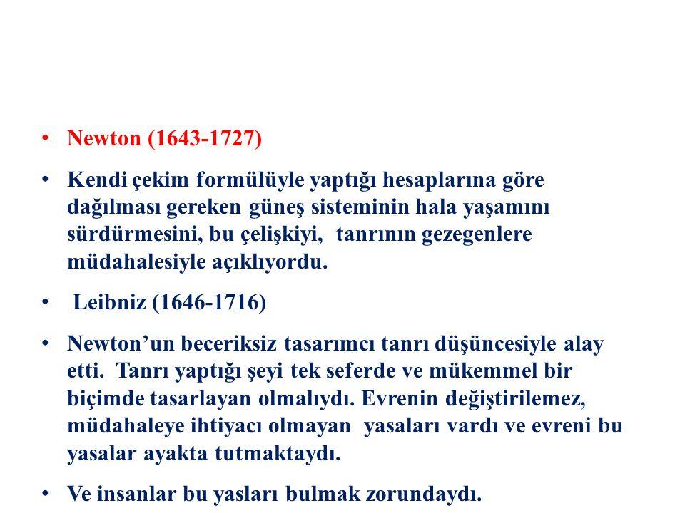 Newton (1643-1727)
