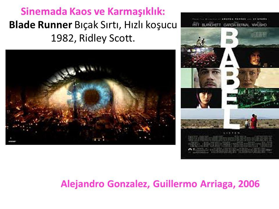 Sinemada Kaos ve Karmaşıklık: Blade Runner Bıçak Sırtı, Hızlı koşucu 1982, Ridley Scott. ,
