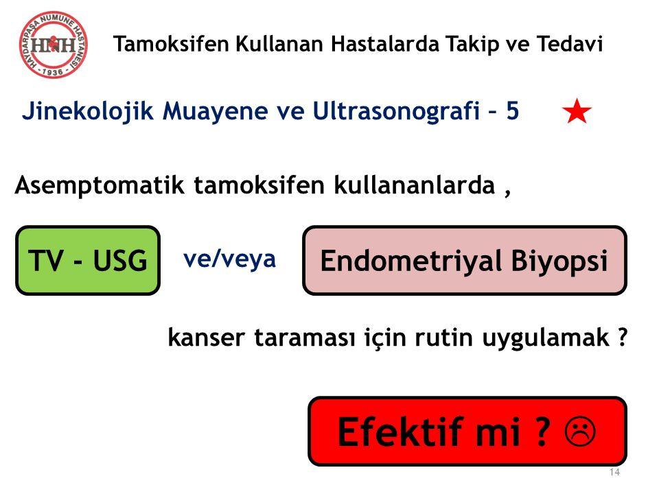 Efektif mi  TV - USG Endometriyal Biyopsi