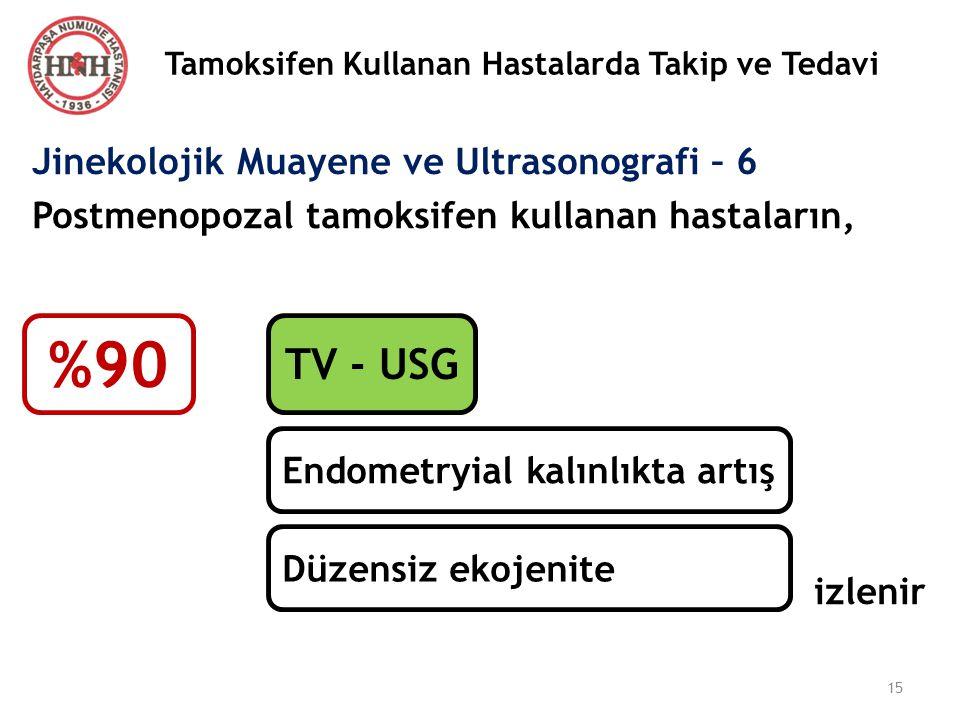 Tamoksifen Kullanan Hastalarda Takip ve Tedavi