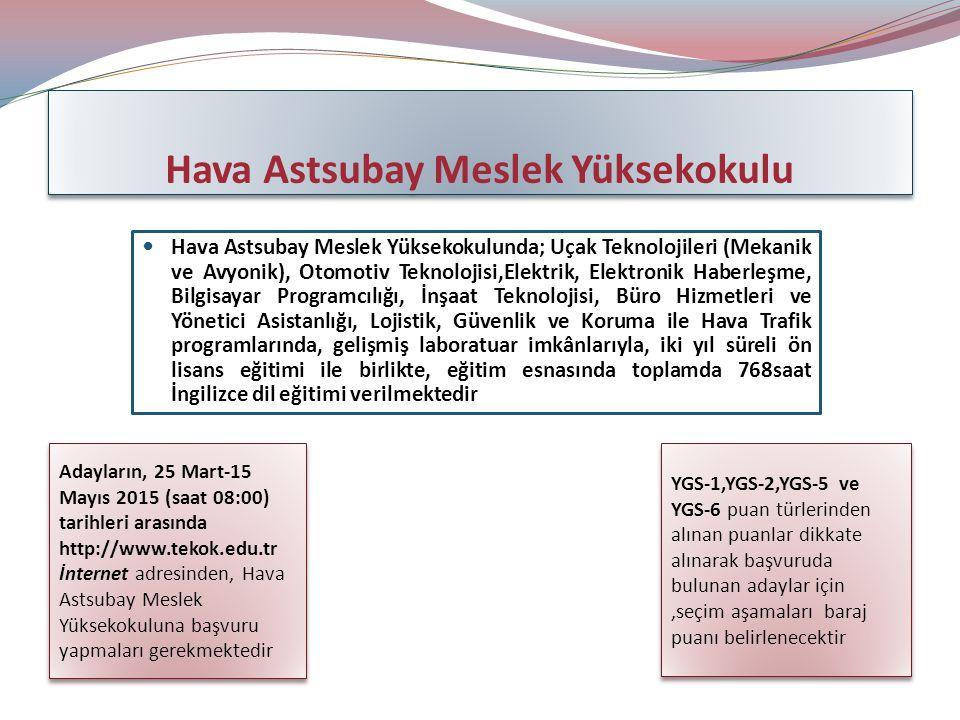 Hava Astsubay Meslek Yüksekokulu