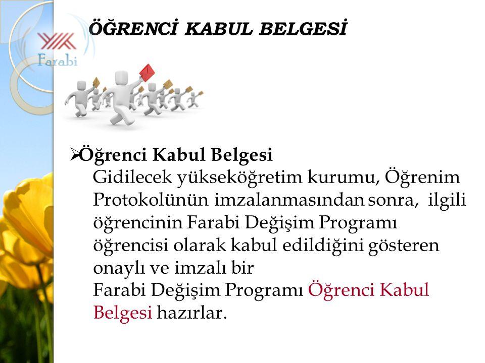 ÖĞRENCİ KABUL BELGESİ Öğrenci Kabul Belgesi.