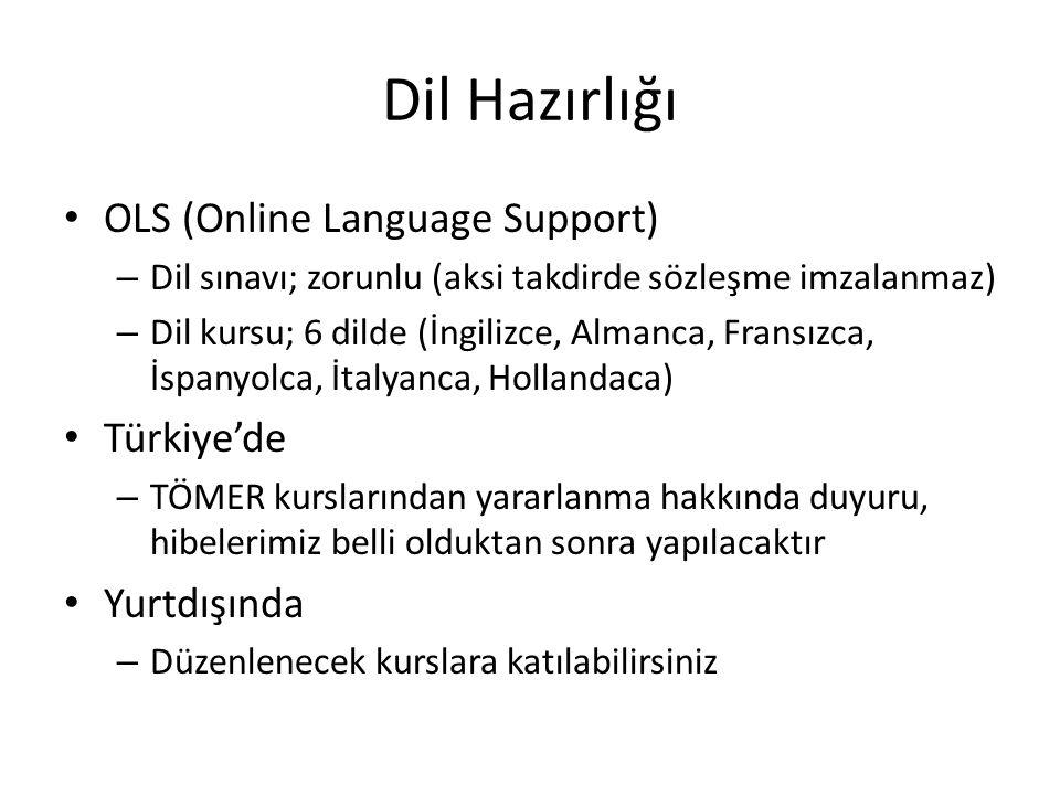 Dil Hazırlığı OLS (Online Language Support) Türkiye'de Yurtdışında