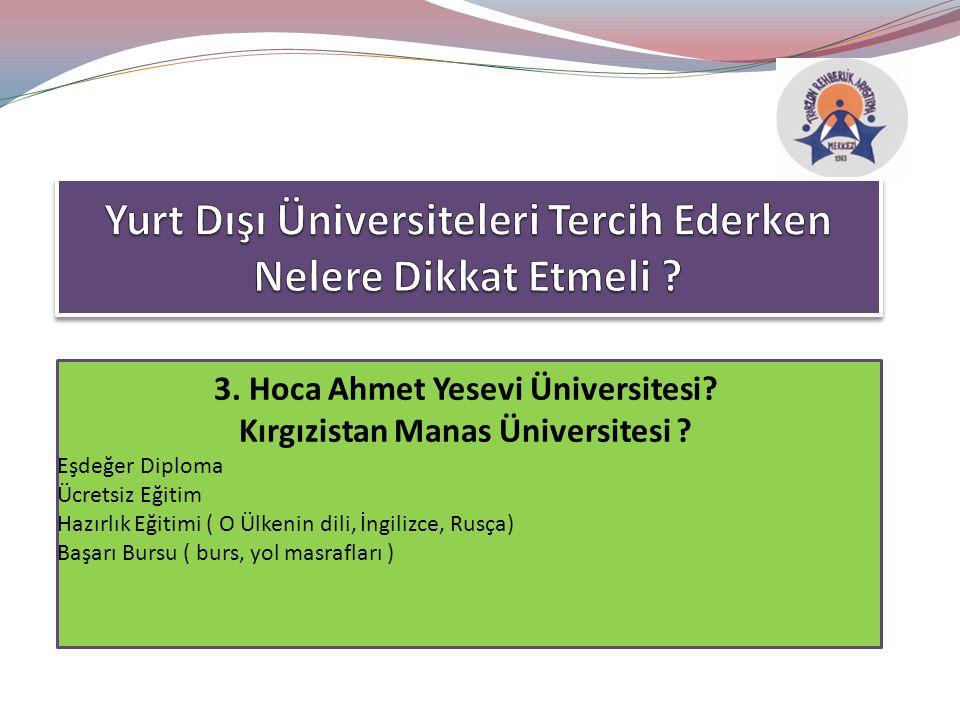 Yurt Dışı Üniversiteleri Tercih Ederken Nelere Dikkat Etmeli