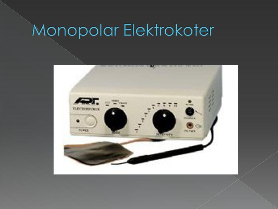 Monopolar Elektrokoter